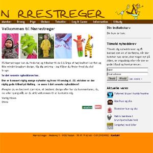 Narrestreger.dk