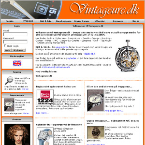 Vintageure.dk - Eksklusive brugte ure