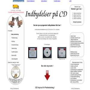Indbydelser i form af cd