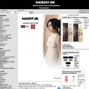 Køb Hårprodukter fra Frisøren Online | Hair247.dk