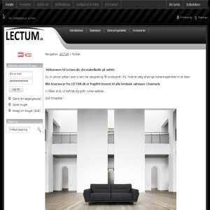 LECTUM - Din møbelbutik på nettet