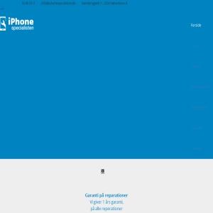 Reparation iPhone iphonespecialisten.dk