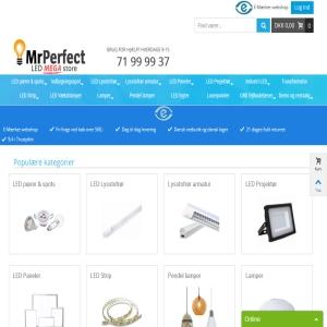 Billige LED spots og LED pærer Mrperfect