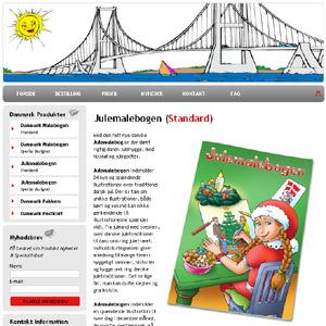 Julemalebogen - Malebog om jul i Danmark